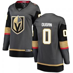 Fanatics Branded Jonathan Dugan Vegas Golden Knights Women's Breakaway Black Home Jersey - Gold
