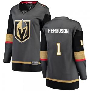 Fanatics Branded Dylan Ferguson Vegas Golden Knights Women's Breakaway Black Home Jersey - Gold
