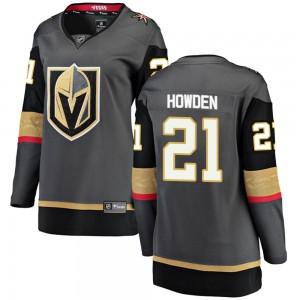 Fanatics Branded Brett Howden Vegas Golden Knights Women's Breakaway Black Home Jersey - Gold
