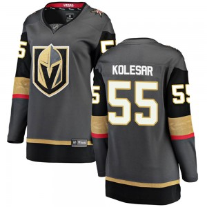 Fanatics Branded Keegan Kolesar Vegas Golden Knights Women's ized Breakaway Black Home Jersey - Gold