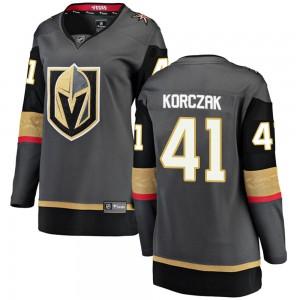 Fanatics Branded Kaedan Korczak Vegas Golden Knights Women's Breakaway Black Home Jersey - Gold