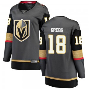 Fanatics Branded Peyton Krebs Vegas Golden Knights Women's ized Breakaway Black Home Jersey - Gold