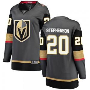 Fanatics Branded Chandler Stephenson Vegas Golden Knights Women's Breakaway Black Home Jersey - Gold