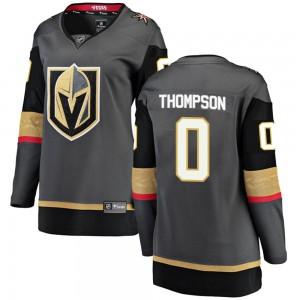 Fanatics Branded Logan Thompson Vegas Golden Knights Women's Breakaway Black Home Jersey - Gold