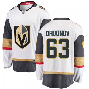 Fanatics Branded Evgenii Dadonov Vegas Golden Knights Youth Breakaway White Away Jersey - Gold