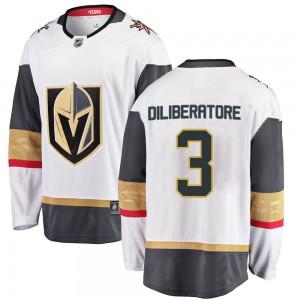 Fanatics Branded Peter DiLiberatore Vegas Golden Knights Youth Breakaway White Away Jersey - Gold
