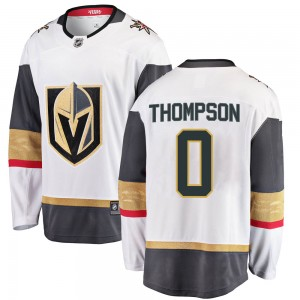 Fanatics Branded Logan Thompson Vegas Golden Knights Youth Breakaway White Away Jersey - Gold
