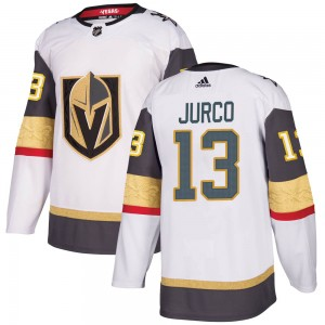 Adidas Tomas Jurco Vegas Golden Knights Youth Authentic White Away Jersey - Gold