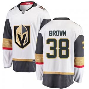 Fanatics Branded Patrick Brown Vegas Golden Knights Men's ized Breakaway White Away Jersey - Gold