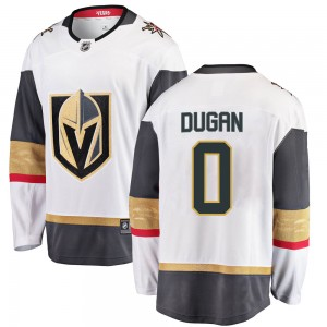 Fanatics Branded Jonathan Dugan Vegas Golden Knights Men's Breakaway White Away Jersey - Gold