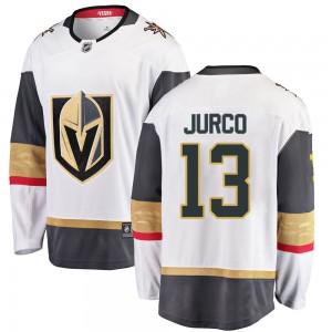 Fanatics Branded Tomas Jurco Vegas Golden Knights Men's Breakaway White Away Jersey - Gold