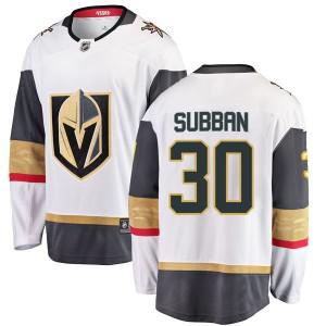 Fanatics Branded Malcolm Subban Vegas Golden Knights Men's Breakaway White Away Jersey - Gold