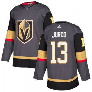 Adidas Tomas Jurco Vegas Golden Knights Youth Authentic Gray Home Jersey - Gold