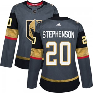 Adidas Chandler Stephenson Vegas Golden Knights Women's Authentic Gray Home Jersey - Gold