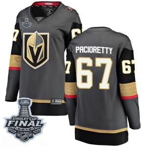 Fanatics Branded Max Pacioretty Vegas Golden Knights Women's Breakaway Black Home 2018 Stanley Cup Final Patch Jersey - Gold