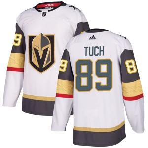 Adidas Alex Tuch Vegas Golden Knights Men's Authentic White Away Jersey - Gold