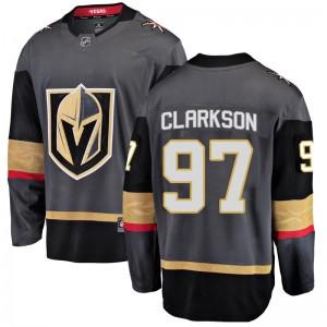 Fanatics Branded David Clarkson Vegas Golden Knights Men's Breakaway Black Home Jersey - Gold