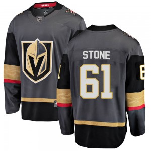 Fanatics Branded Mark Stone Vegas Golden Knights Men's Breakaway Black Home Jersey - Gold