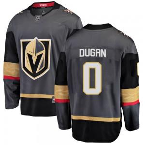 Fanatics Branded Jonathan Dugan Vegas Golden Knights Youth Breakaway Black Home Jersey - Gold