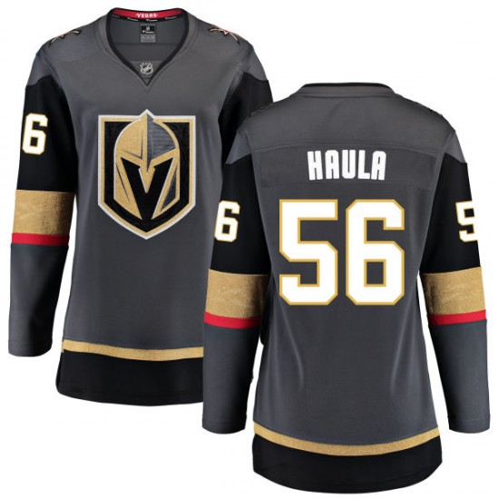 designer fashion 642db 62da8 Fanatics Branded Erik Haula Vegas Golden Knights Women's Black Home  Breakaway Jersey - Gold