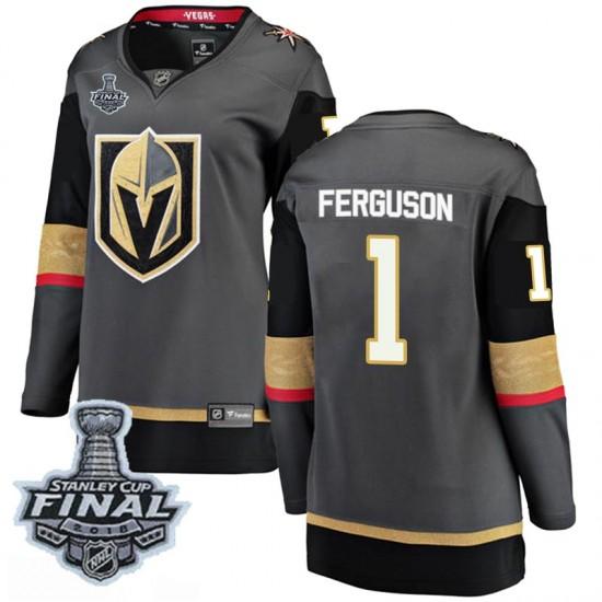Fanatics Branded Dylan Ferguson Vegas Golden Knights Women s Breakaway  Black Home 2018 Stanley Cup Final Patch Jersey ... 136ff40e4
