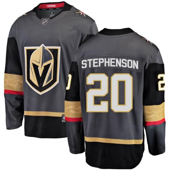Fanatics Branded Chandler Stephenson Vegas Golden Knights Men's Breakaway Black Home Jersey - Gold